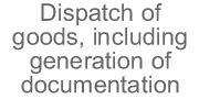 Dispatch of goods, including generation of documentation